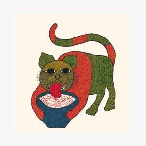 I Like Cats - Card Box